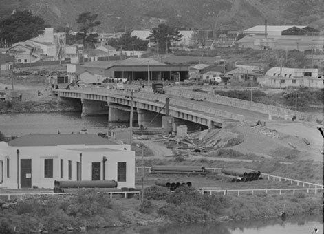 Hutt Estuary Bridge