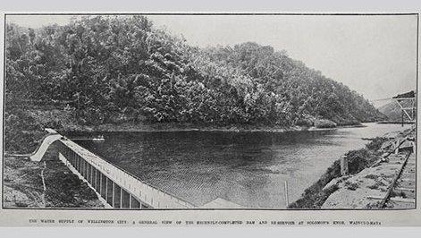 Morton Buttress Dam