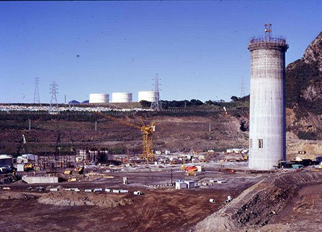 New Plymouth Power Station Chimney 2