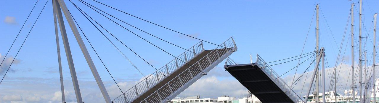 Wynyard Crossing bridge