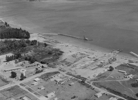 Tauranga harbour and port development 1