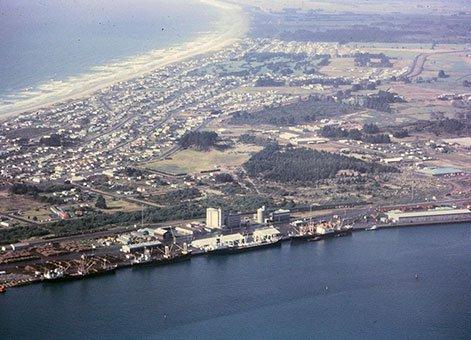 Tauranga harbour and port development 2
